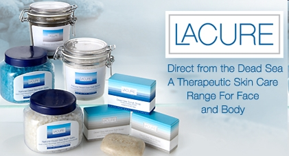 La Cure range of Dead Sea products
