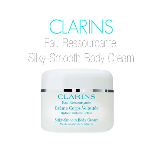 CLARINS Eau Ressourçante Silky Smooth Body Cream