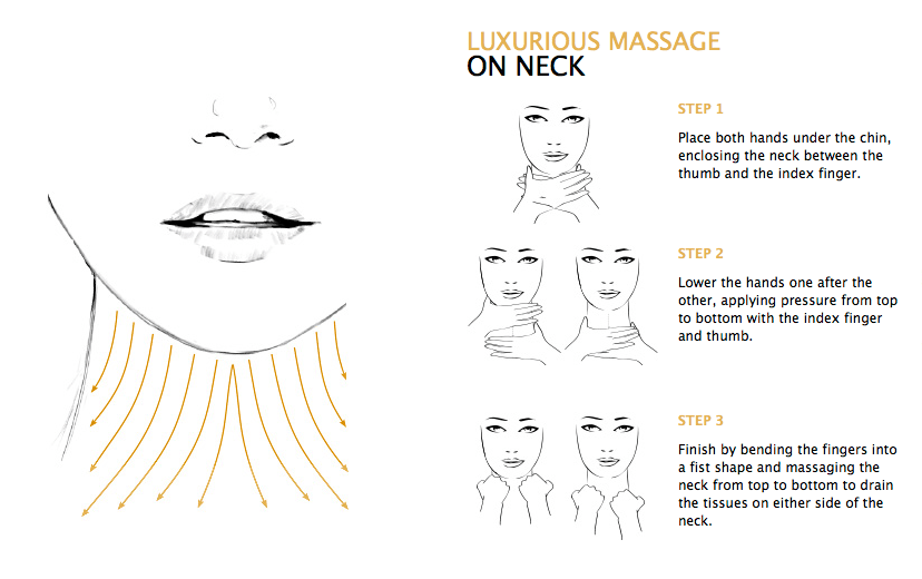 LUXURIOUS MASSAGE ON NECK