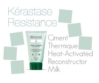 Kérastase Resistance Ciment Thermique Heat-Activated Reconstructor Milk