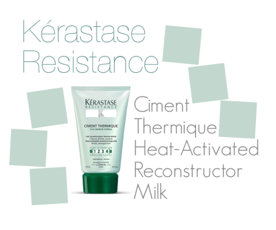 Kérastase Resistance Ciment Thermique Heat-Activated Reconstructor Milk