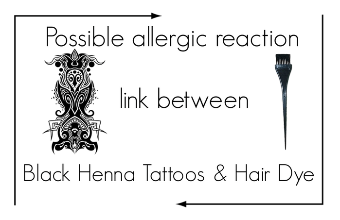 Black Henna Tattoos & Hair Dye