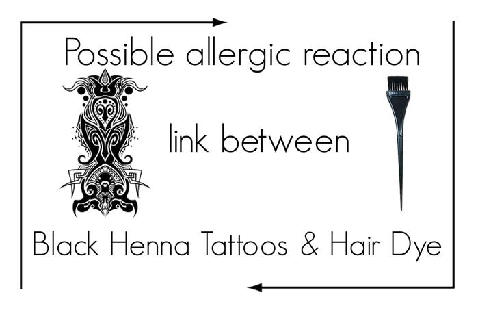 Black Henna Tattoos & Hair Dye