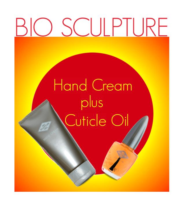 Bio Sculpture Hand Cream & Cuticle Oil
