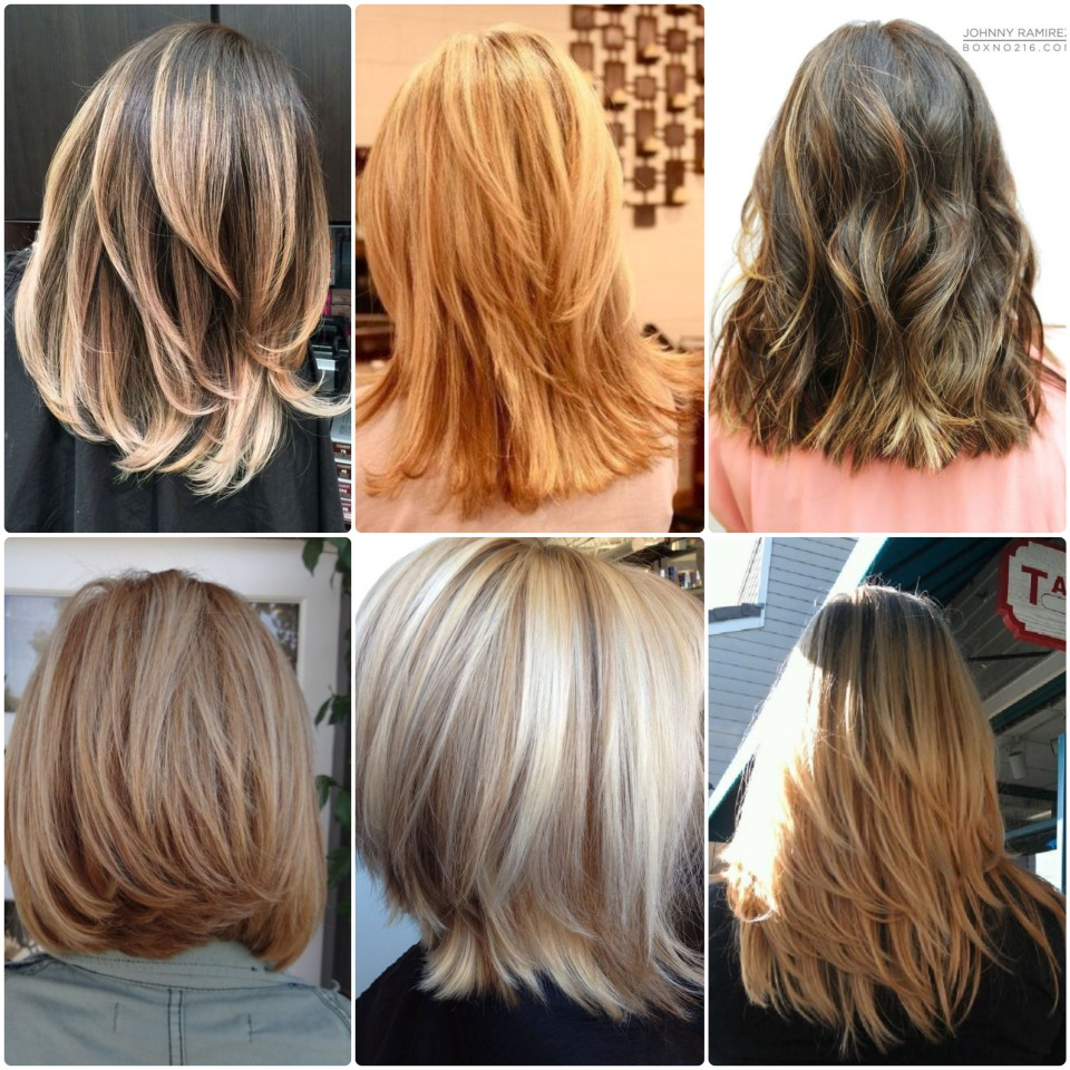 Back View Layered Hair Styles Cheat Sheet To Take To Hairdresser Unfading Beauty