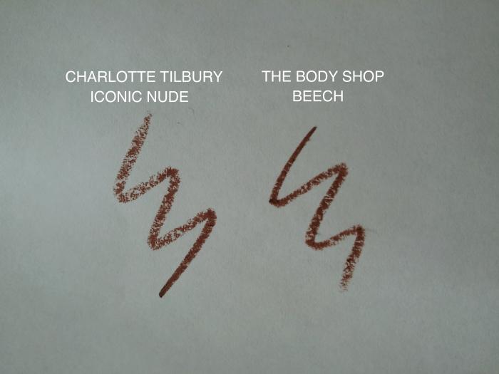 DUPE CHARLOTTE TILBURY ICONIC NUDE BODY SHOP BEECH