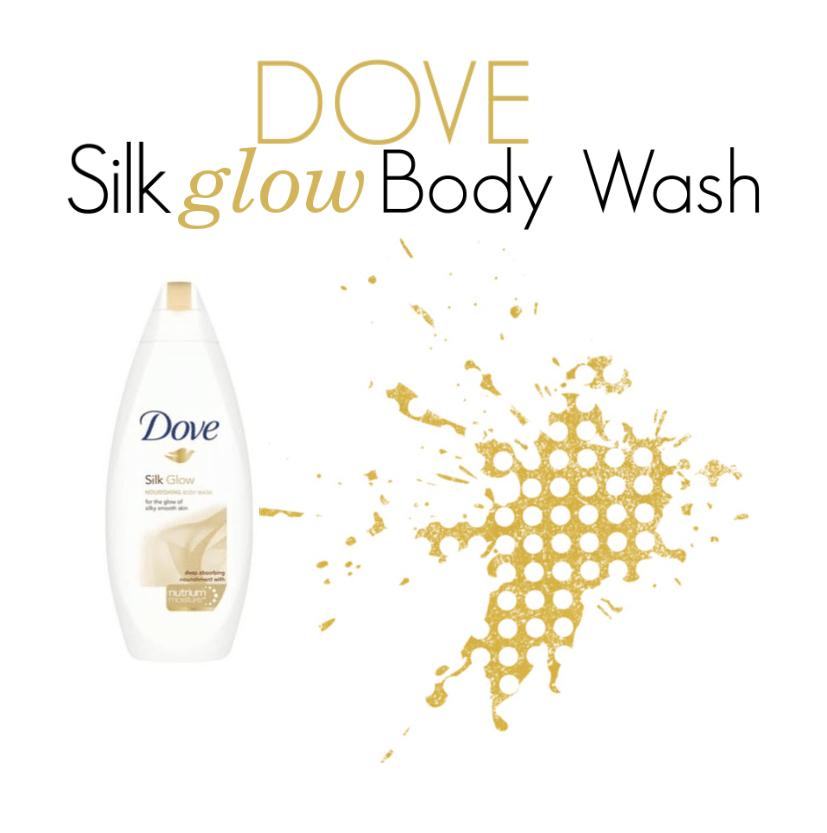 Dove Silk Glow Body Wash