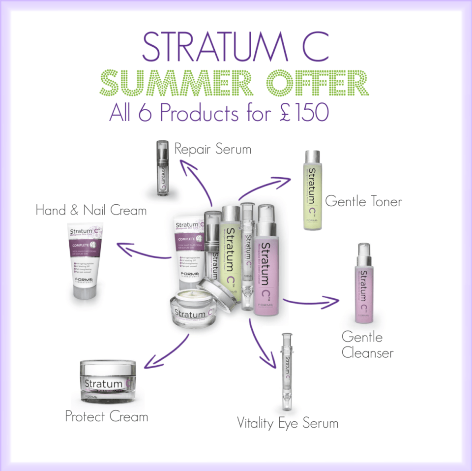 Stratum C SUMMER OFFER 6 Full Sized Products for £150.00
