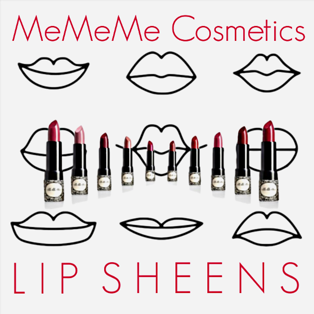 MeMeMe Cosmetics Lip Sheens