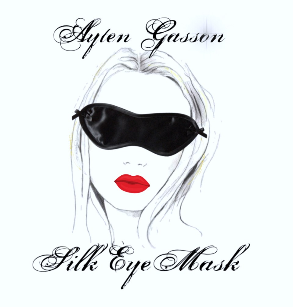 Ayten Gasson Lingerie silk eye mask