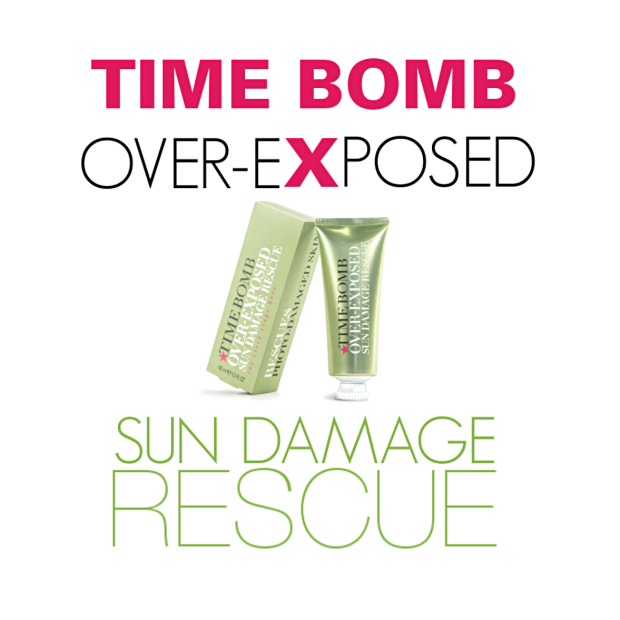 TIMEBOMB OVER-EXPOSED SUN DAMAGE RESCUE