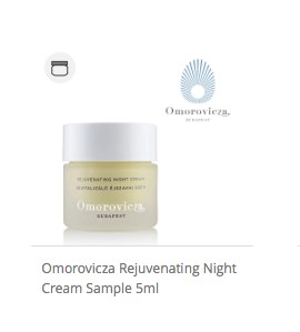 Omorovicza Rejuvenating Night Cream Sample 5ml