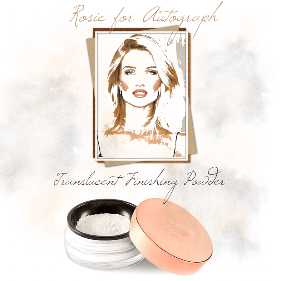 REVIEW: ROSIE FOR AUTOGRAPH Translucent Finishing Powder