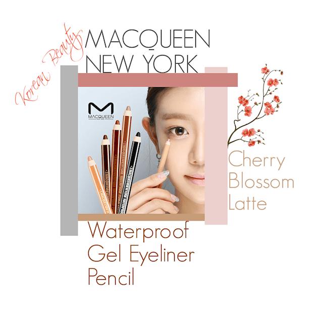 MACQUEEN NEW YORK GEL PENCIL CHERRY BLOSSOM LATTE