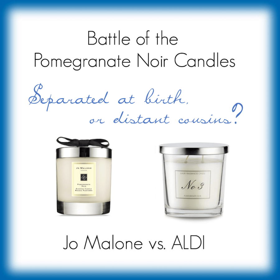 Jo Malone & ALDI Pomegranate Noir Candles