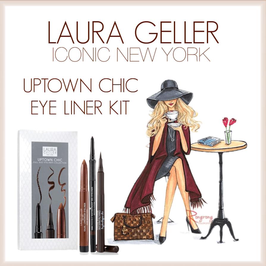 Laura Geller Uptown Chic Eye Liner Kit