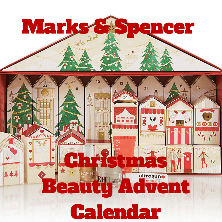 M&S Christmas Beauty Advent Calendar