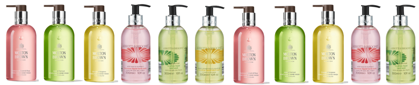Body Washes - Molton Brown, Jo Malone