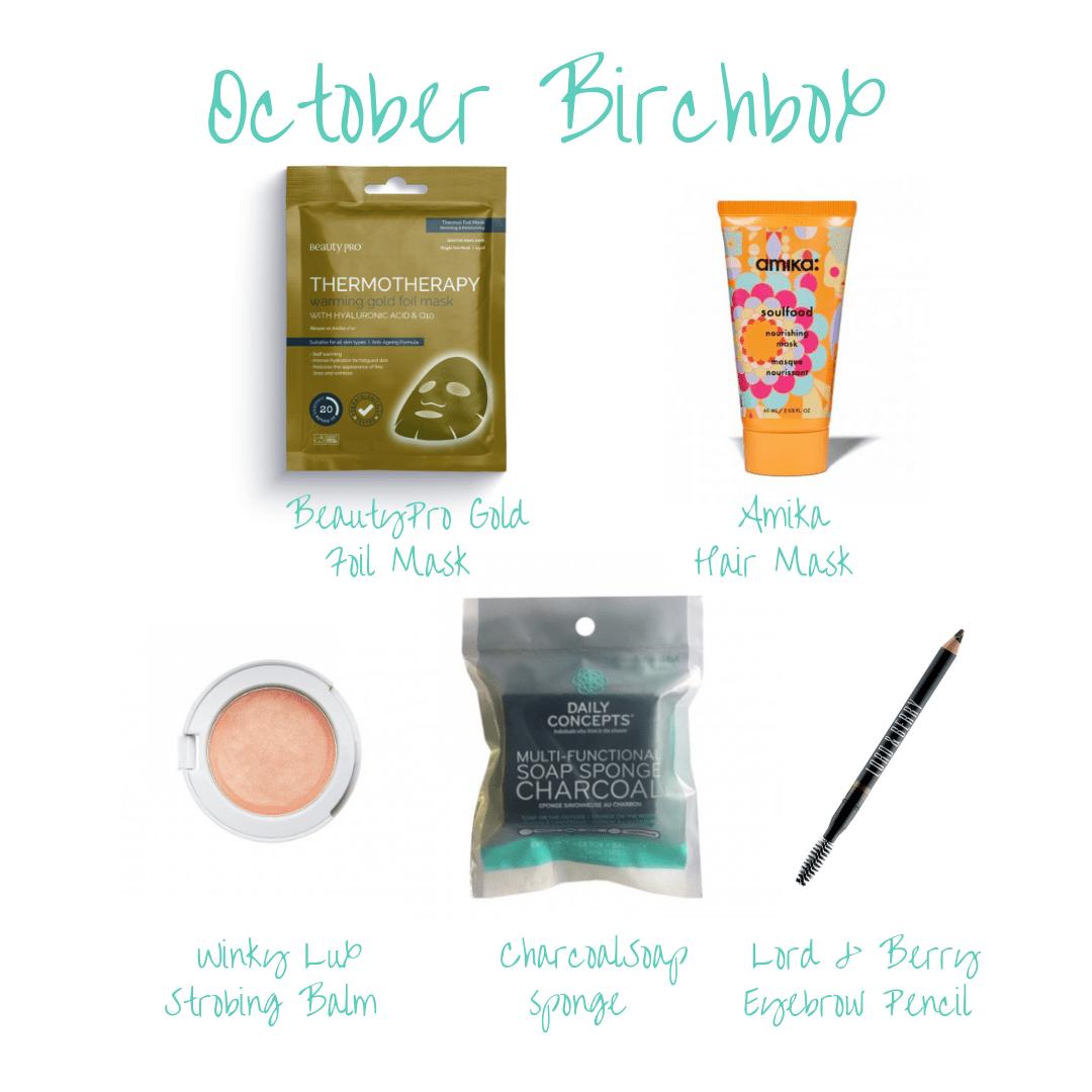 October Birchbox