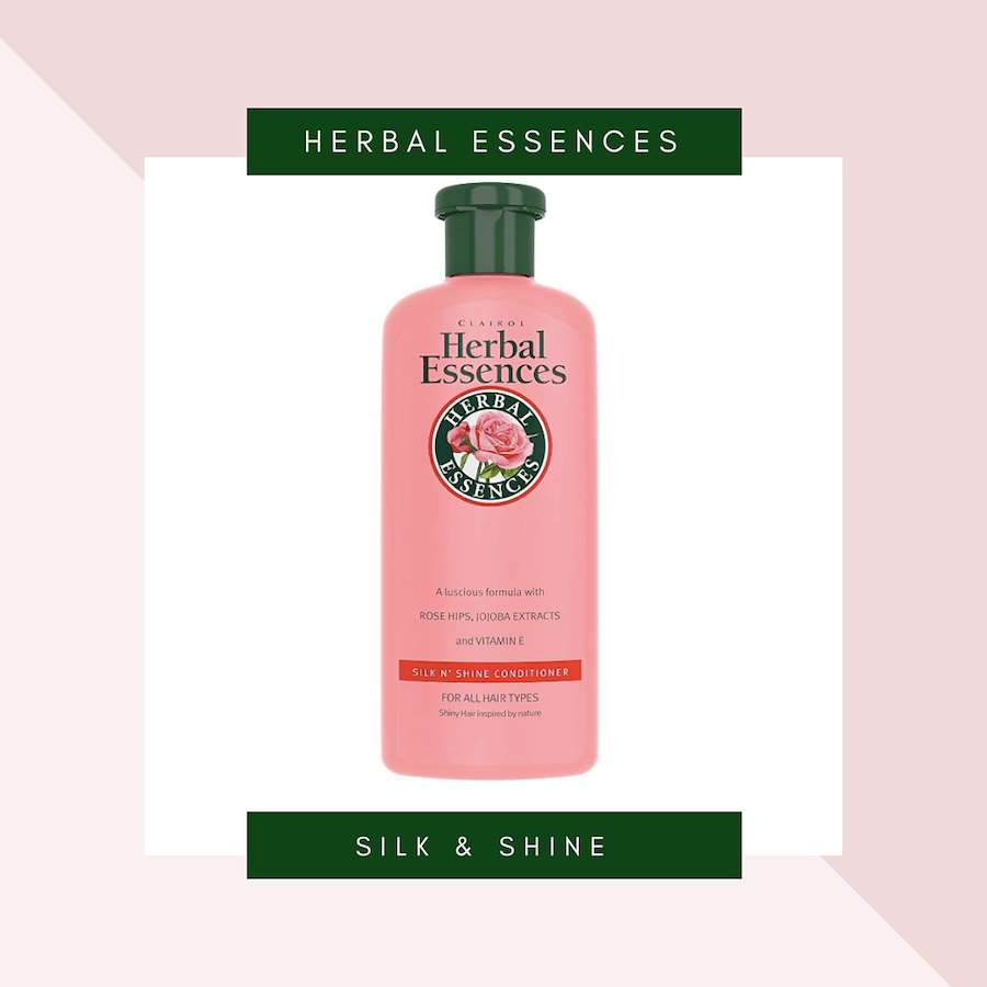 Herbal Essences Silk and Shine Conditioner