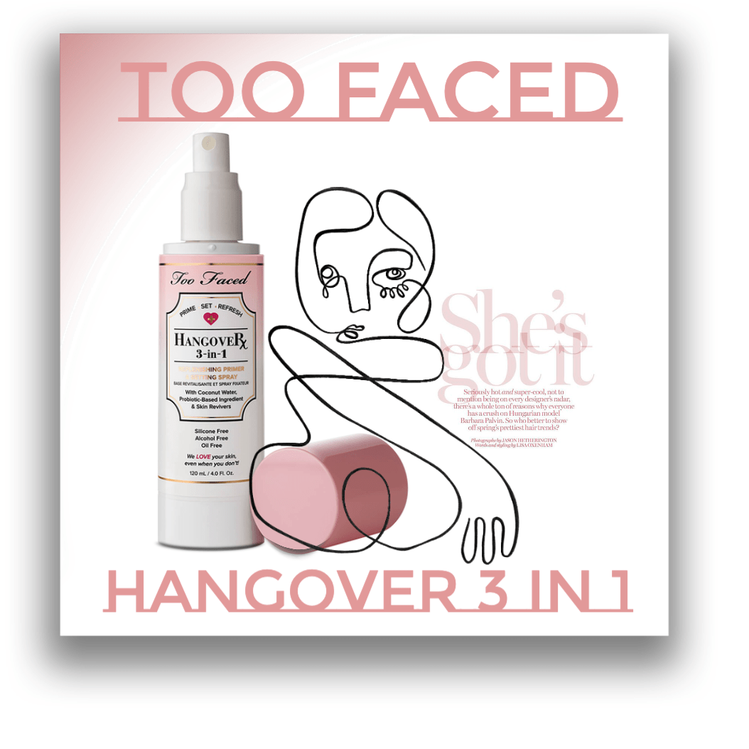 Too Faced Hangover 3-in-1 Primer Setting Spray