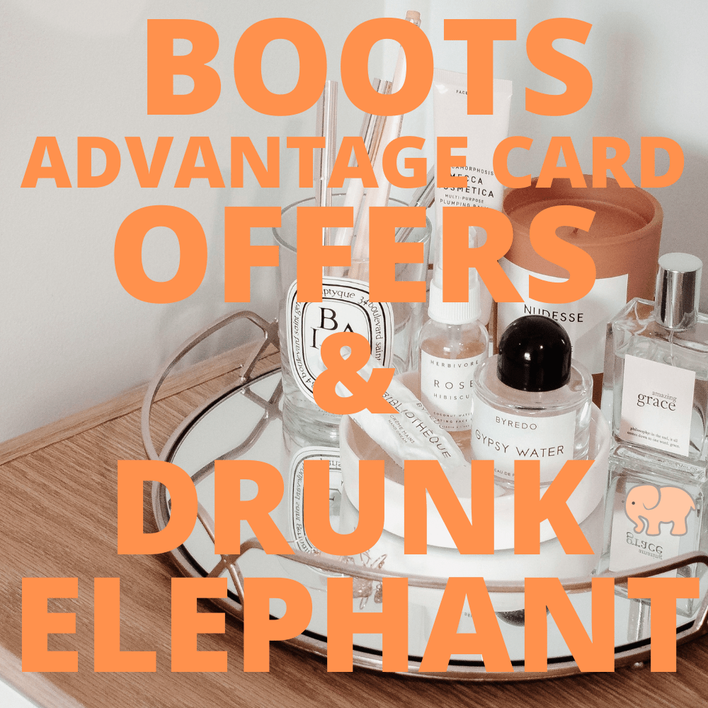 BOOTS ADVANTAGE CARD OFFER