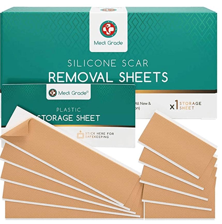 Medi-Grade Silicone Scar Sheets