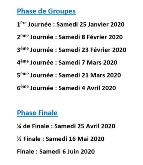coupenationale calendrier