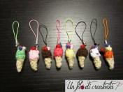 Gelati charm crochet