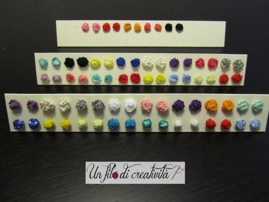 Roselline e palline multicolor!!!