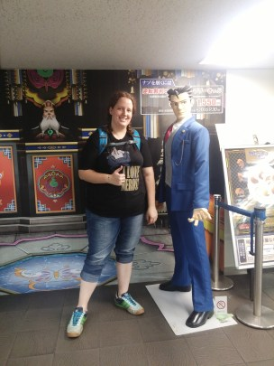 Phoenix Wright and I. Love those games!