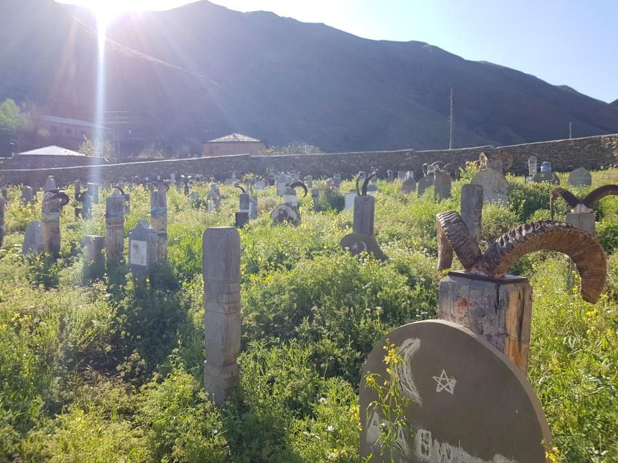 nokur cemetery in Turkmenistan
