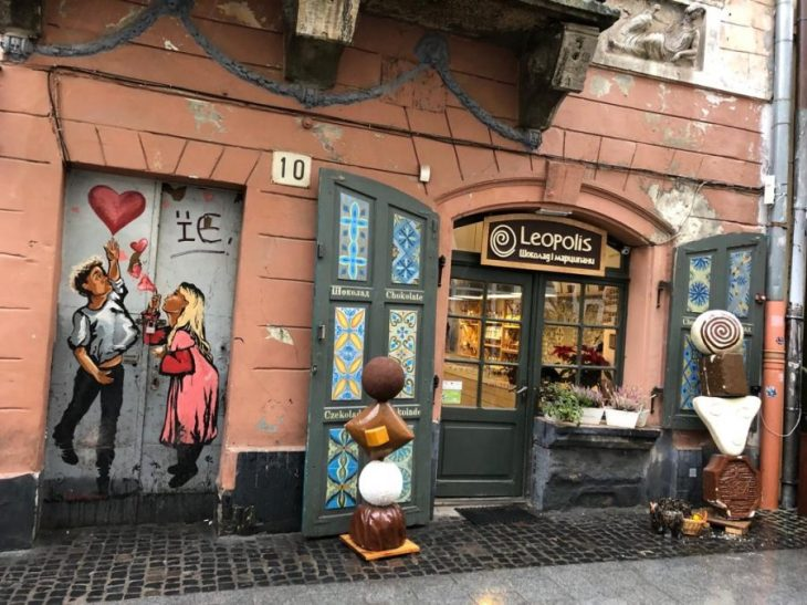 Graffiti in Lviv
