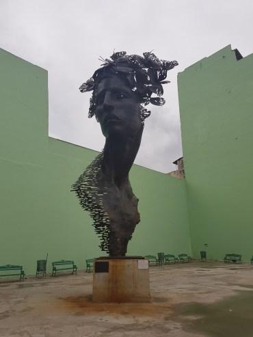 Primavera statue in Havana honouring the women of Cuba.