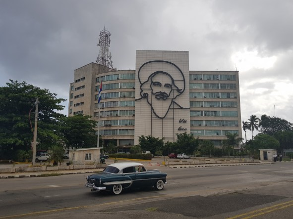 Different angle of Plaza de la Revolución