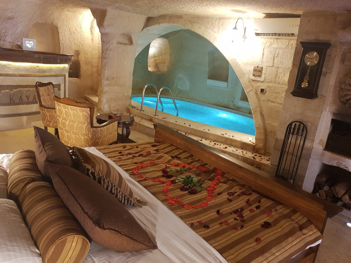 Bedroom of room 119, what makes this the most romantic hotel in Cappadocia
