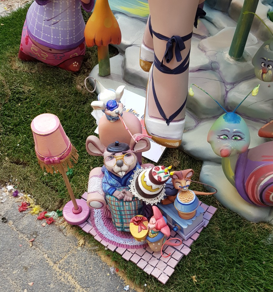 Little mouse tea party at the quirky festival