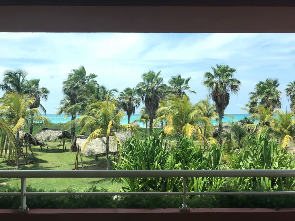 View from our balcony at Iberostar Selection hotel