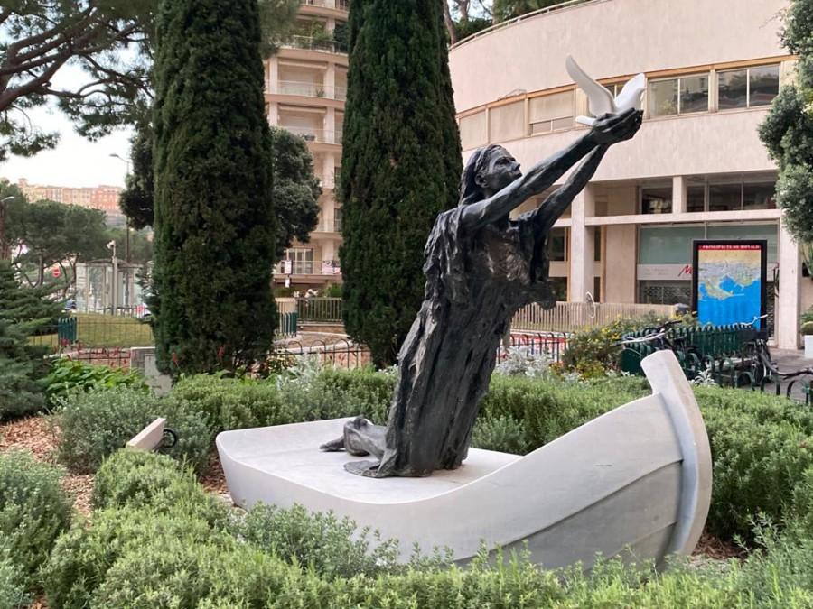 Statue of Sainte Devote, Monaco
