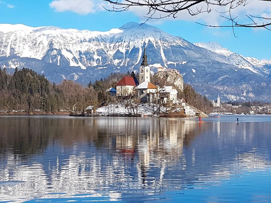 The island on Lake Bled