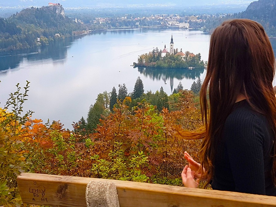 Ojstrica Lake Bled viewpoint