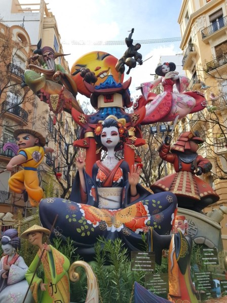 Fallas at this quirky festival