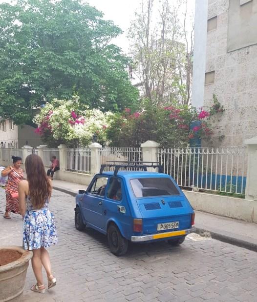 Tiny car in Havana