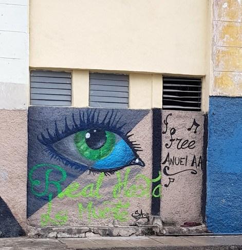 Graffiti at Callejon de Hamel