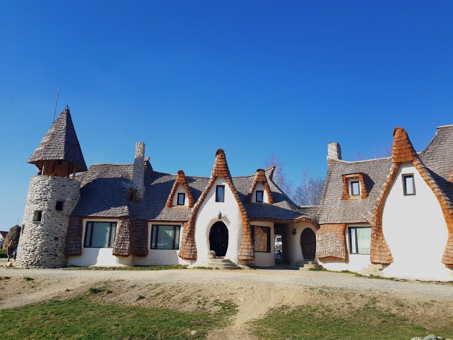 Clay Castle Valley of the Fairies in Romania