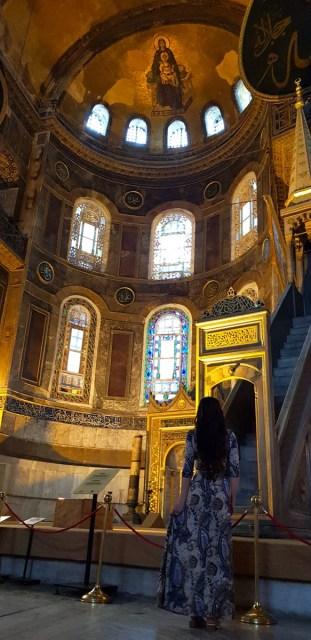Beautiful Hagia Sophia, Istanbul