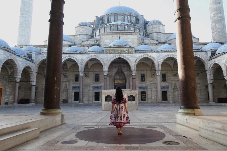 Suleymaniye, a breathtaking mosque