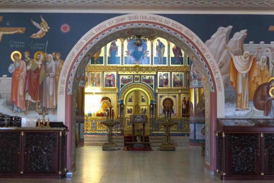 Interior of Pokrovo-Nicholas Church