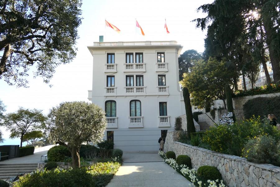 National museum of Monaco at Villa Paloma