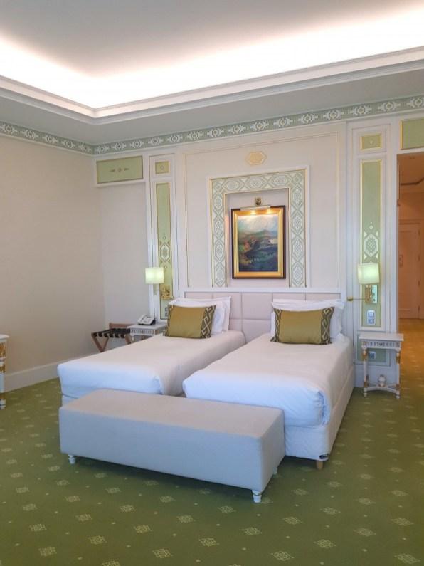 Twin room in Yyldyz Hotel